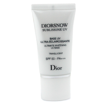 10 Christian Dior DiorSnow Sublissime Base SPF 50