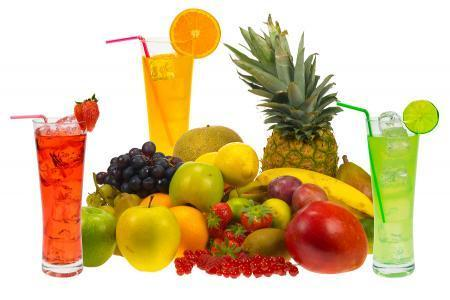 10Juice extract from fruits