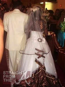 6.Gown with the wrong accent