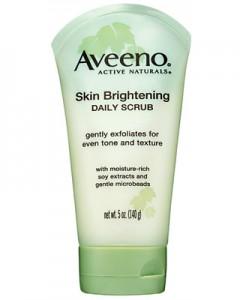 7Aveeno Skin Brightening Daily Scrub