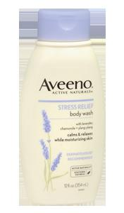 8 Aveeno Stress Relief Body Wash