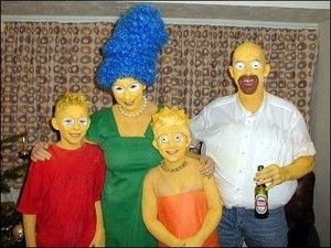its always a good sight to behold when people see the simpsons at halloween parties but what will make your rendition stand out is the fact that you wont