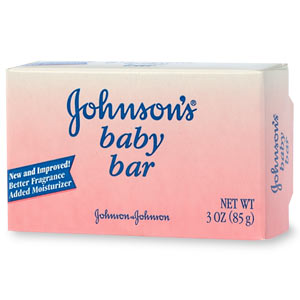 Use mild soap or baby soap