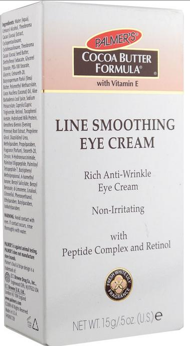 10.Palmer's Cocoa Butter Formula Line Smoothing Eye Cream