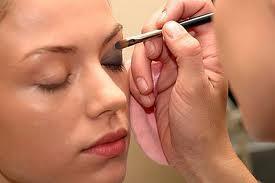 3 Treat the brow bone area