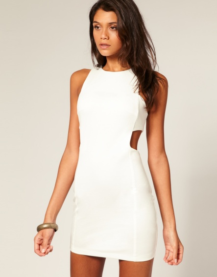 10.Shift Dress with Cut out Sides (from ASOS)