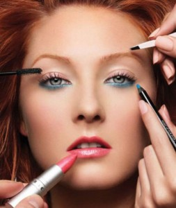 5.Moderation of makeup application