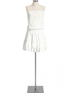 6.Strapless Gauze Dress