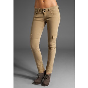 Womens Khaki Skinny Jeans Photo Album - Kianes
