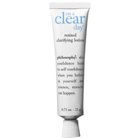 9. Philosophy on a Clear Day Retinol Treatment Lotion