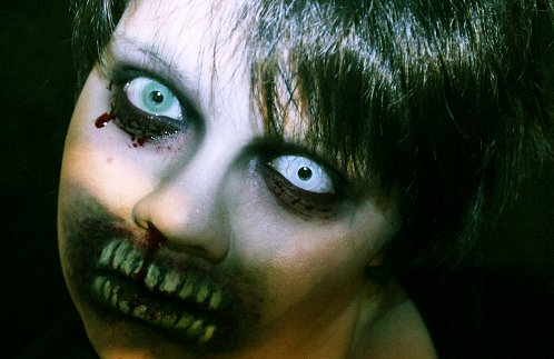 10 diy scary and crazy halloween makeup ideas - Easy Scary Halloween Face Painting Ideas