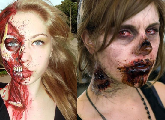 10 diy scary and crazy halloween makeup ideas mmm glaw blog 10 diy scary and crazy halloween makeup ideas solutioingenieria Images