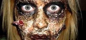 10 DIY Scary and Crazy Halloween Makeup Ideas