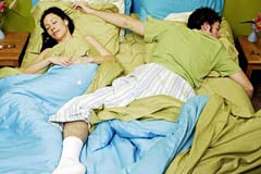 1The Bed Hogging Male