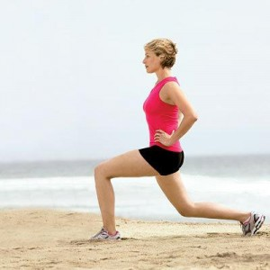 2Lunge exercise