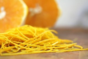 3 Grate, mix, and scrub some oranges