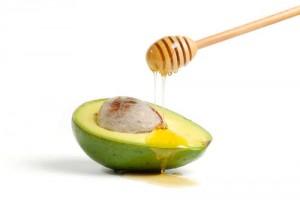 1. Avocado, ground almonds and oatmeal