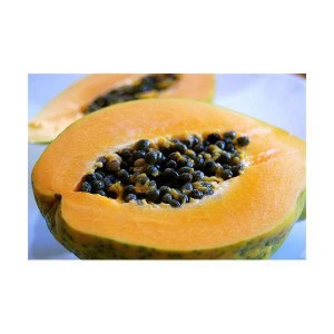 3. Papaya, Pineapple or Pomegranate