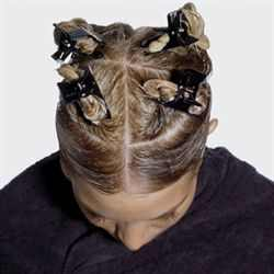 4. Section your hair