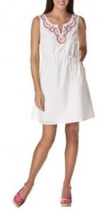 7.Sleeveless Dress with Beading