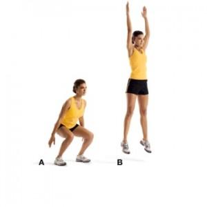 1. Jump Squats