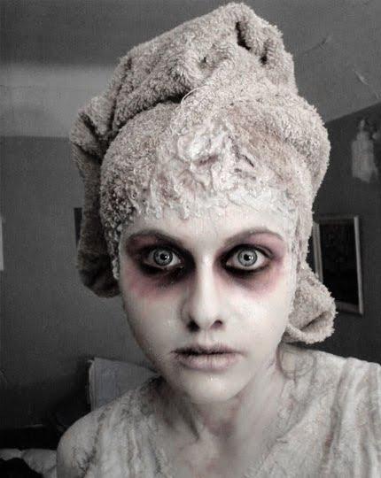 10 Diy Scary And Crazy Makeup Ideas